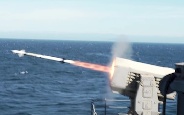 USS Carl Vinson (CVN 70) Conducts Live-Fire Exercise