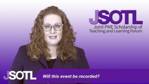 JSOTL Forum FAQ's