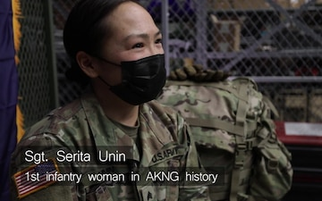 Sgt. Serita Unin makes history as Alaska Army National Guard's first infantrywoman
