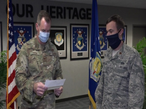 Col. John Tryon, AFCEC Detachment 1 commander's 'Virtual' all-call