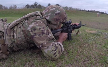 U.S. Army Small Arms Championships Day 6, Rifle Range B-Roll, Part 1