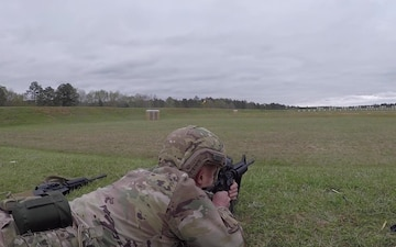 U.S. Army Small Arms Championships Day 6, Rifle Range B-Roll, Part 2