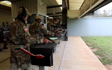U.S. Army Small Arms Championships Day 6, Pistol Range B-Roll, Part 2