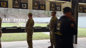 U.S. Army Small Arms Championships Day 6, Pistol Range B-Roll, Part 3