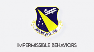 88 ABW Extremism Down Day - Impermissible Behaviors