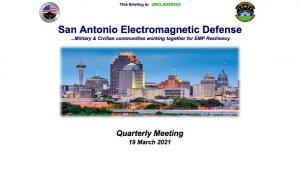 SA-EMD Quarterly Update 2021 Featuring Guest Speaker Dr. Baker