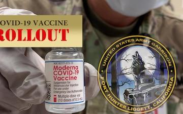 COVID-19 Vaccine Rollout at Fort Hunter Liggett