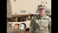 Part 2: Capt. Shelby Hensley, 318th Chemical Co. commander, speaks on importance of women in military