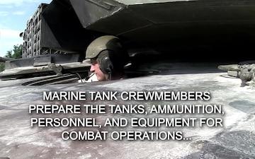 Marine Tank Crewmembers Spotlight