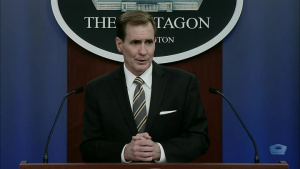 Pentagon Press Secretary Holds Briefing