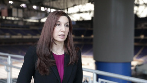 Melissa Jackson talks about her role at the Ford Field CVC