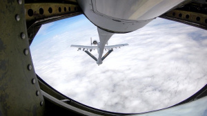 Pennsylvania's 171st Refuels Indiana's Warthogs