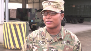 Staff Sgt. Aryanna Pope - Womans History Month