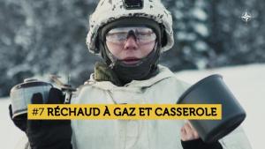 Que contient le paquetage d'hiver d'un soldat estonien ?
