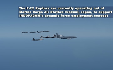 Fifth Generation Fighters Train in Japan