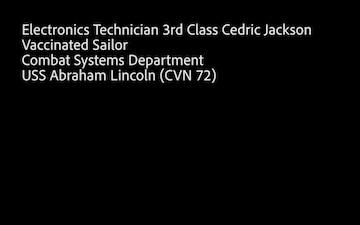 USS Abraham Lincoln (CVN 72) COVID-19 Vaccine Interview 5
