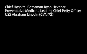 USS Abraham Lincoln (CVN 72) COVID-19 Vaccine Interview 3