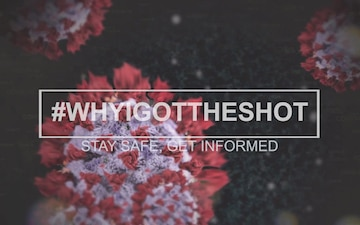2CR Soldiers participate in 'Why I got the shot' vaccine video