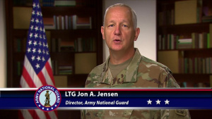 Lt. Gen. Jon Jensen introduction to the Army National Guard