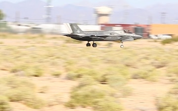 Stopping Mid-Air: F-35B Lightning II's Conduct Vertical Landings