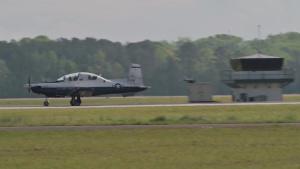 T-6 Texan II B-roll