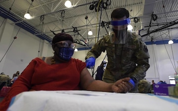 Pa. National Guard supports vaccination center in North Philadelphia