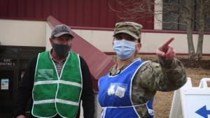 Oklahoma National Guard distributes COVID-19 vaccine at OCCC