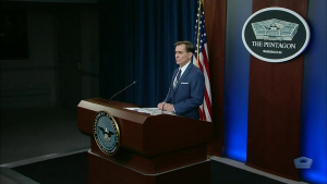 Pentagon Press Secretary Holds News Conference