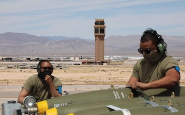 127th Wing Participates in Green Flag-West 21
