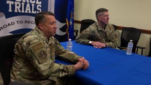 Lieutenant General Brian Kelly Speaks to AF Athletes