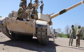 WFX 21-4 Tank Exercise