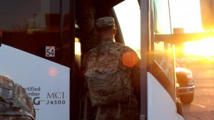 U.S. Army Soldiers from Fort Carson deploy to the Community Vaccination Site in Pueblo, Colorado