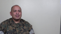 Gunnery Sgt. GonzalezDawkins receives Master Gunnery Sergeant Acevedo Award as Marine Corps Motor Transport Chief of the Year for Fiscal Year 2020