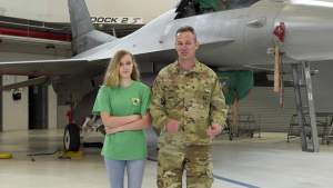 180FW Commander Thanks Military Kids During Month of the Military Child (NO GRAPHICS)