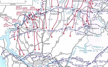 This Day in Army History-Chinese and North Korean spring offensive begins-April 22nd, 1951