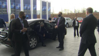 Visit to NATO by the US Secretary of State - Arrival