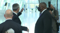 Visit to NATO by the US Secretary of Defense - Arrival