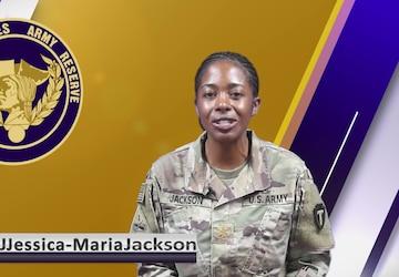 USAR Birthday shoutout - MAJ Jessica-Maria Jackson