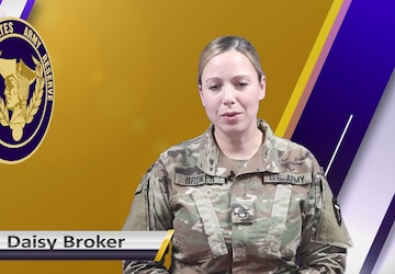 USAR Birthday shoutout - SSG Daisy Broker