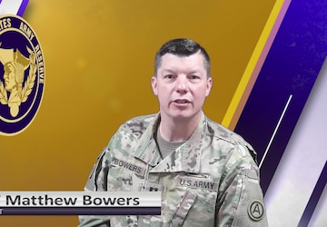 USAR Birthday shoutout - CPT Matthew Bowers