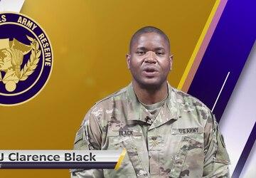 USAR Birthday shoutout - MAJ Clarence Black