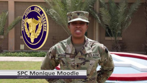 USAR Birthday shoutout - SPC Monique Moodie