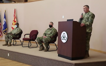 Fort McCoy Garrison commander shares thoughts about company commander's tenure at installation during change of command