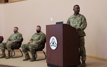 Former company commander discusses his tenure leading Headquarters and Headquarters Company, U.S. Army Garrison Fort McCoy