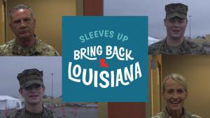 Sleeves Up, Bring Back Louisiana