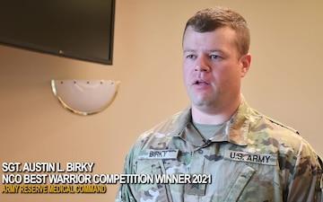 AR-MEDCOM 2021 Best Warrior Competition - NCO winner; Sgt. Austin Birky