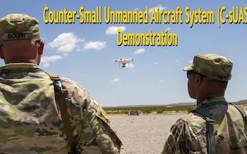 U.S. Army Yuma Proving Ground hosts groundbreaking counter-small UAS demonstration
