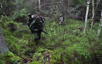Swedish Home Guard Trains With U.S. Army Green Berets
