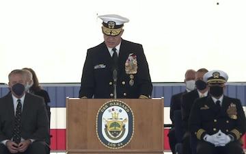 USS Oakland Commissioning