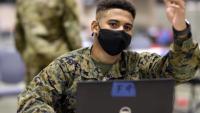 Devil Dogs & Docs: U.S. Marines return to Philadelphia for vaccination mission